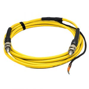 High Temperature 7F Triax cable for vacuum controllers