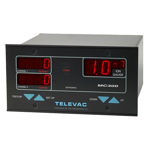 Televac MC300 Vacuum Controller - 1E-11 to 1E3 Torr - The Fredericks Company