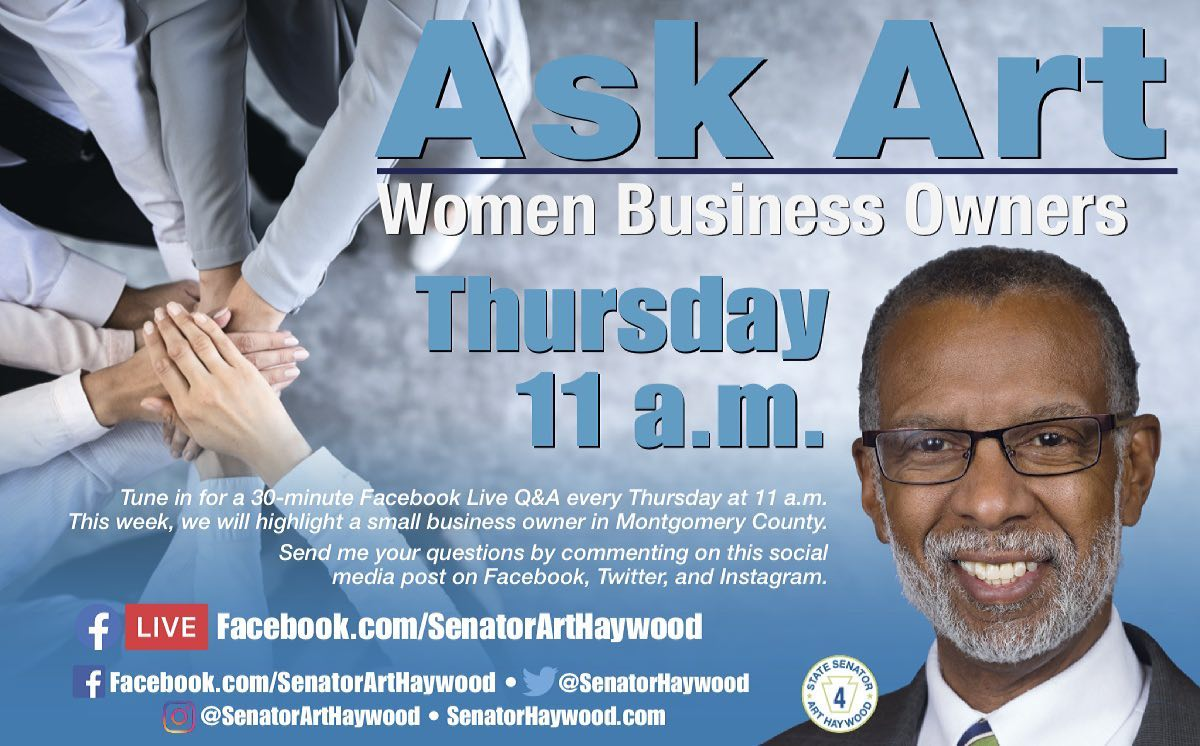 Sen. Art Haywood spoke with The Fredericks Company's President Heidi McKenna about Women in Business